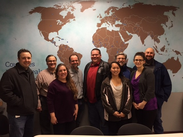 Picture of USDA RMA volunteers at Feed My Starving Children